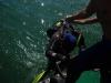 diving on zmeiniy island